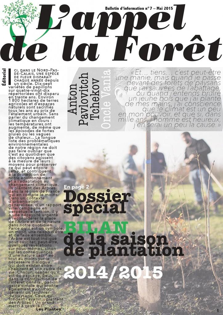 L'appel de la forêt – mai 2015