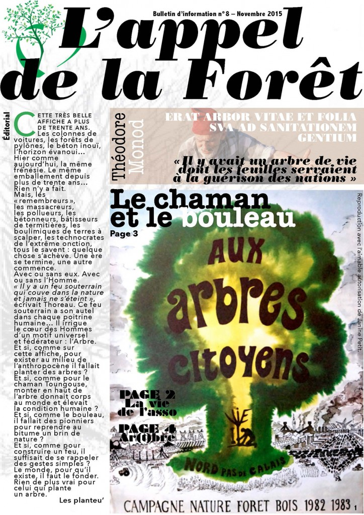 L'appel de la forêt  –  nov 2015