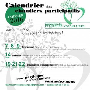calendrier janvier demi