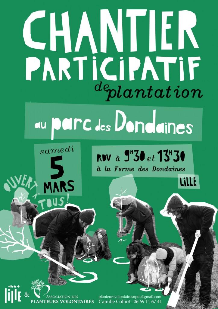 Les planteurs arrivent à Lille !
