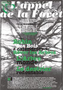Appel de la forêt n°12 – l'Arbre Monde – novembre 2016