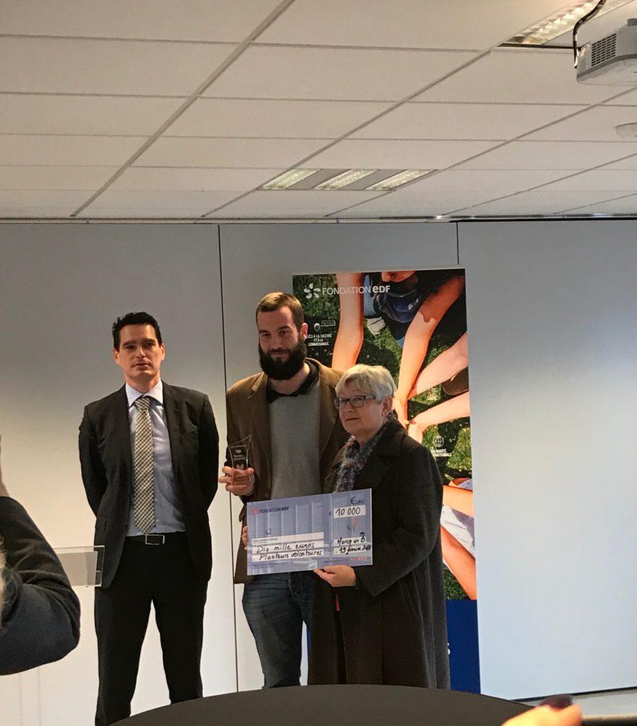 Remise des trophées de la fondation EDF