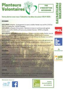 Saison de plantation 2019 – 2020… TOP DEPART !