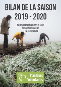 Bilan de la saison de plantation 2019-2020